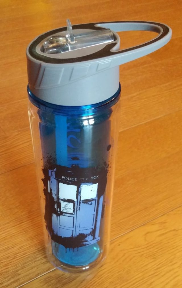 Doctor Who Nerd Block Flask