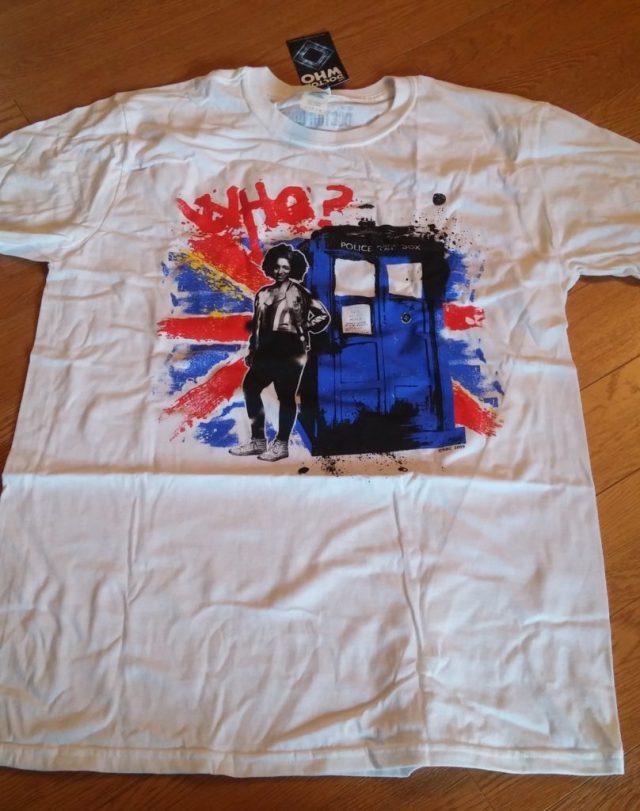 Doctor Who Nerd Block - T-shirt