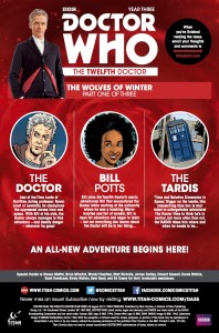 TITAN COMICS - DOCTOR WHO 12TH YEAR THREE #5