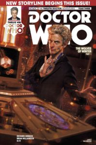 TITAN COMICS - DOCTOR WHO 12TH YEAR THREE #5 - COVER B: PHOTO BY WILL BROOKS