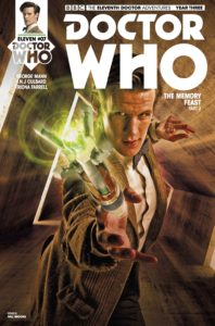 TITAN COMICS - DOCTOR WHO: ELEVENTH DOCTOR #3.7 COVER B: PHOTO BY WILL BROOKS