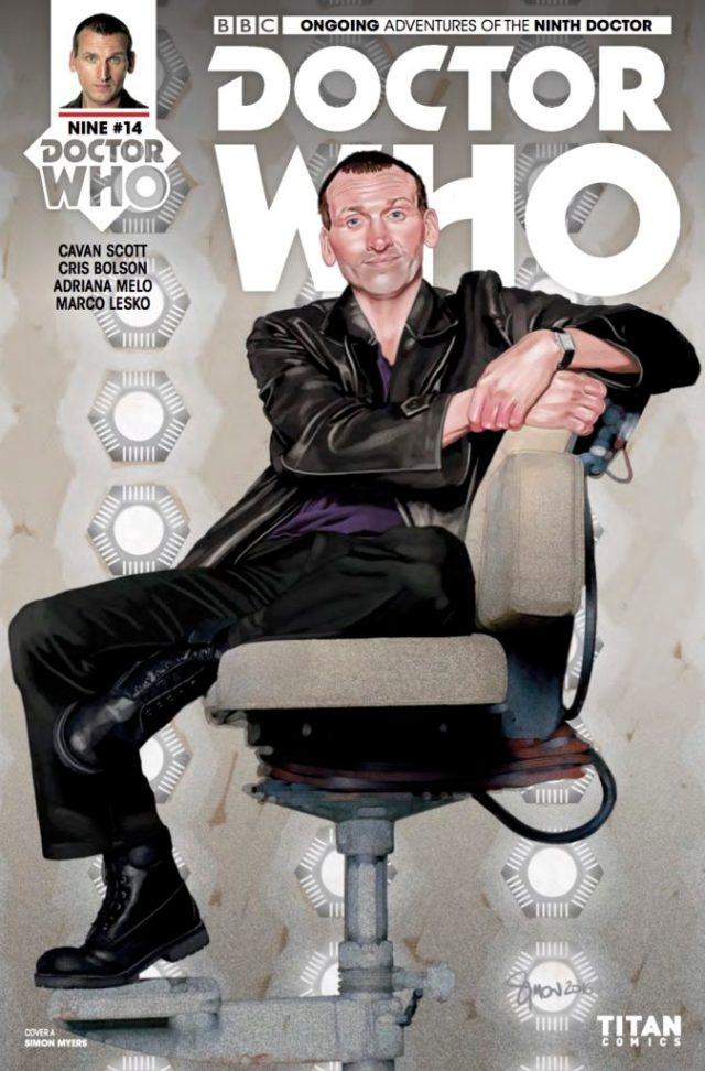 TITAN COMICS - DOCTOR WHO: NINTH DOCTOR #14 - COVER A: SIMON MYERS
