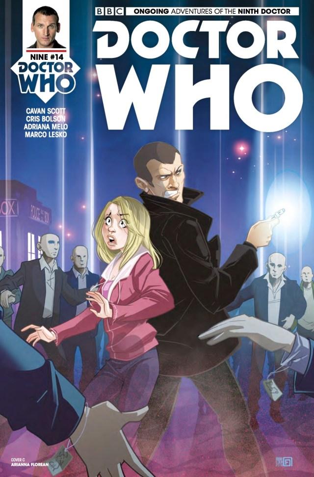 TITAN COMICS - DOCTOR WHO: NINTH DOCTOR #14 - COVER C: ARIANNA FLOREAN