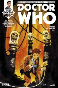 TITAN COMICS - DOCTOR WHO: TENTH DOCTOR #3.7 COVER A: ROBERT HACK