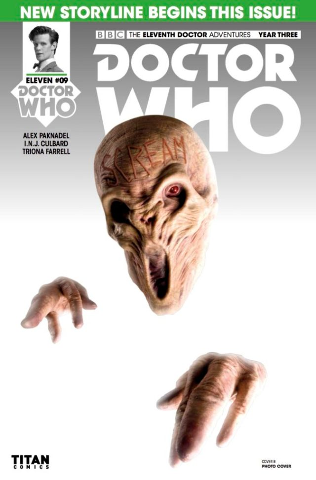 TITAN COMICS - DOCTOR WHO 11TH YEAR THREE #9 COVER B WILL BROOKS