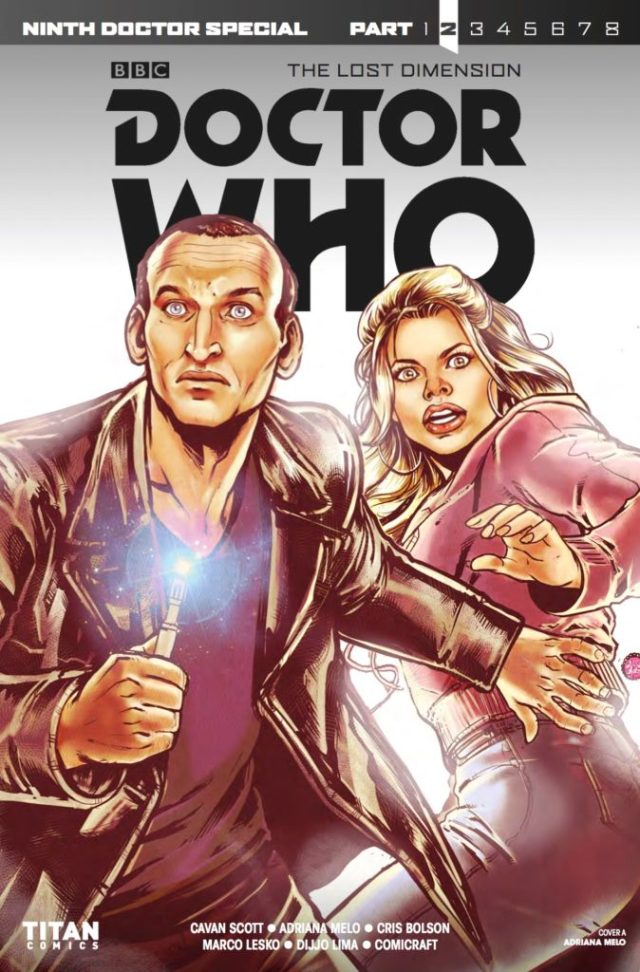 DOCTOR WHO: THE LOST DIMENSION #2 - NINTH DOCTOR SPECIAL - COVER A: Adriana Melo