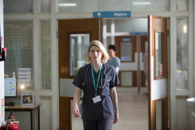 Trust Me - Ep3 (No. 3) - Picture Shows: Ally (JODIE WHITTAKER) - (C) Red Productions - Photographer: Mark Mainz