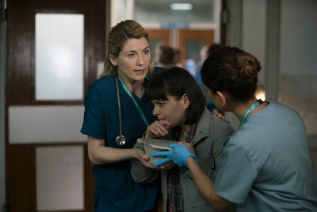 Trust Me - Ep4 (No. 4) - Picture Shows: Ally (JODIE WHITTAKER) - (C) Red Productions - Photographer: Mark Mainz