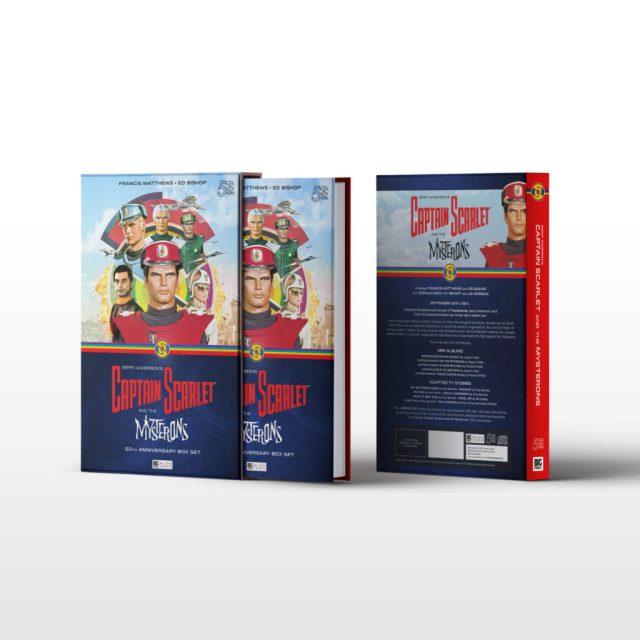 BIG FINISH - CAPTAIN SCARLET 50TH ANNIVERSARY BOX SET