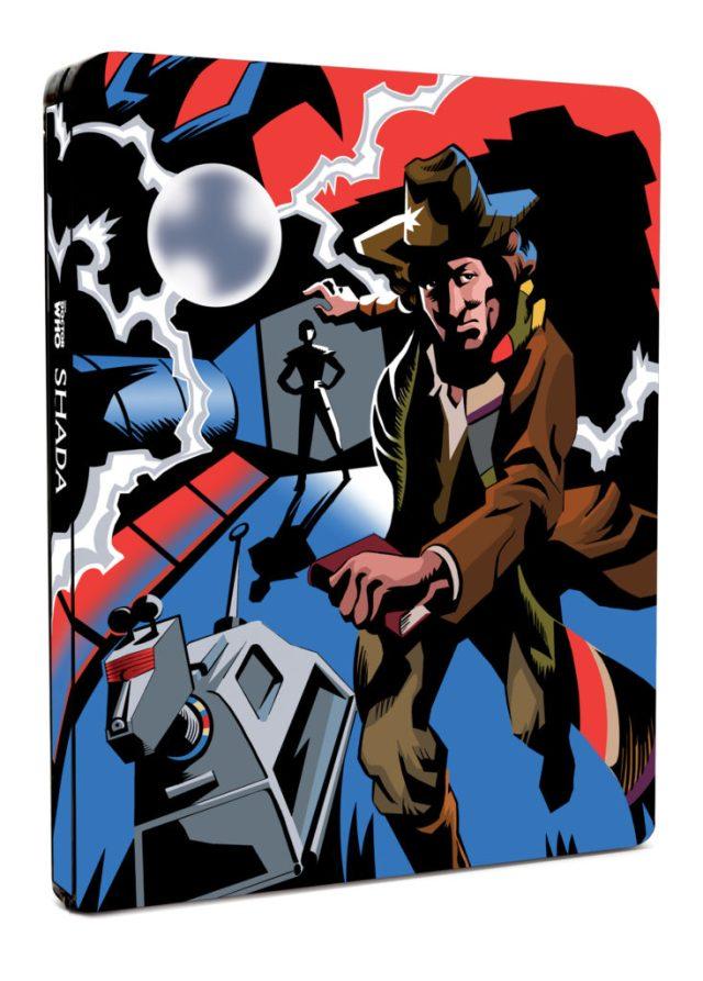 Doctor Who - Shada Steelbox - Front - BBC Worldwide