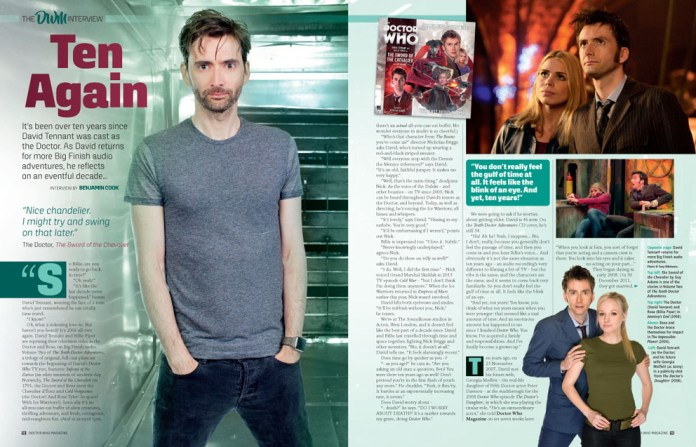 Doctor Who Magazine - Issue 518 - David Tennant Interview Sneak Peak