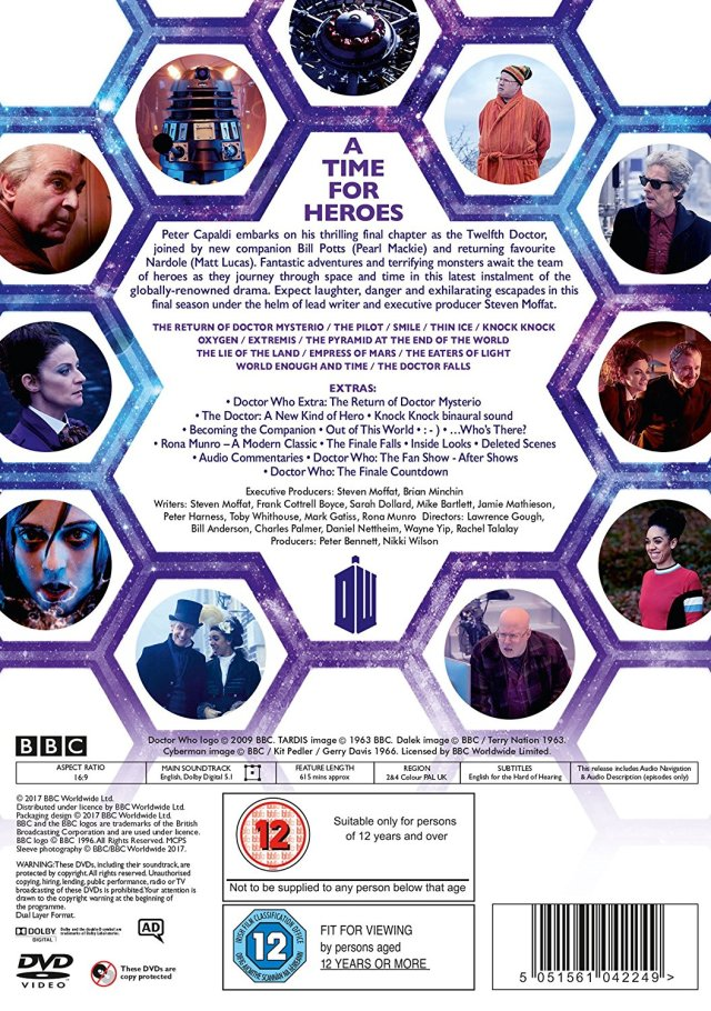 Doctor Who The Complete Series 10 DVD