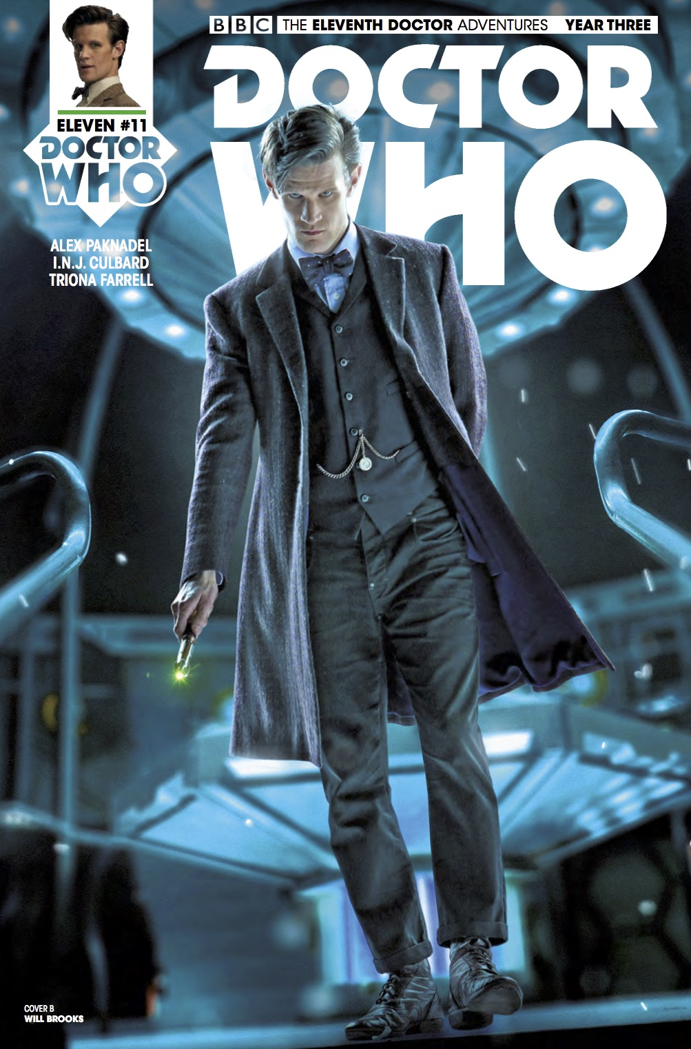 TITAN COMICS DOCTOR WHO ELEVENTH DOCTOR YEAR THREE #11