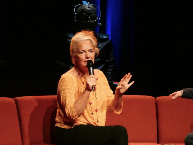 Louise Jameson - Who's at the Playhouse @ Diane Malkin for Blogtor Who