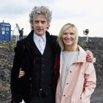 Jo Whiley and Peter Capaldi Behind the Scenes