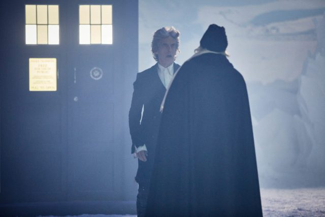 Doctor Who - Twice Upon a Time The Doctor (PETER CAPALDI), The First Doctor (DAVID BRADLEY) - (C) BBC/BBC Worldwide - Photographer: Simon Ridgway