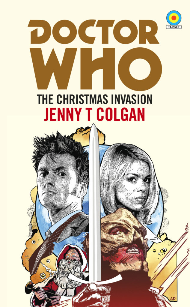 The Christmas Invasion Target cover
