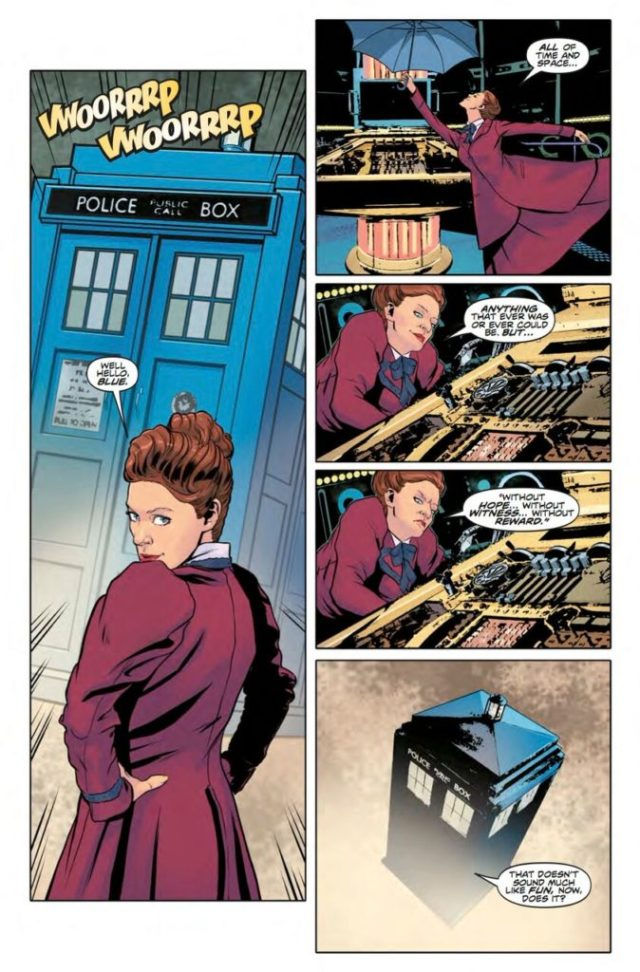 12th Doctor Year 3 Titan Comics preview