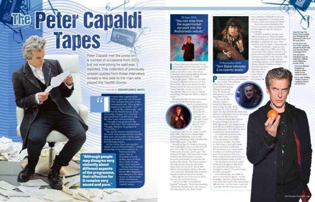 Peter Capaldi in DWM 522