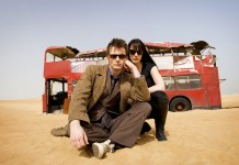Michelle Ryan and David Tennant in Doctor Who: 'Planet of the Dead'.