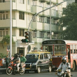 Suasana jalanan Mumbai