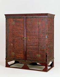 赤漆文欟木御厨子 奈良国立は器物館より