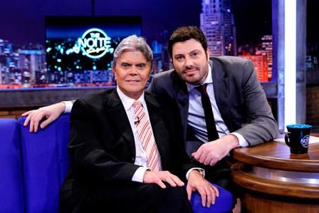 Hoje no Programa The Noite 21/04/2014: Danilo Gentili entrevista o radialista Paulo Barboza.