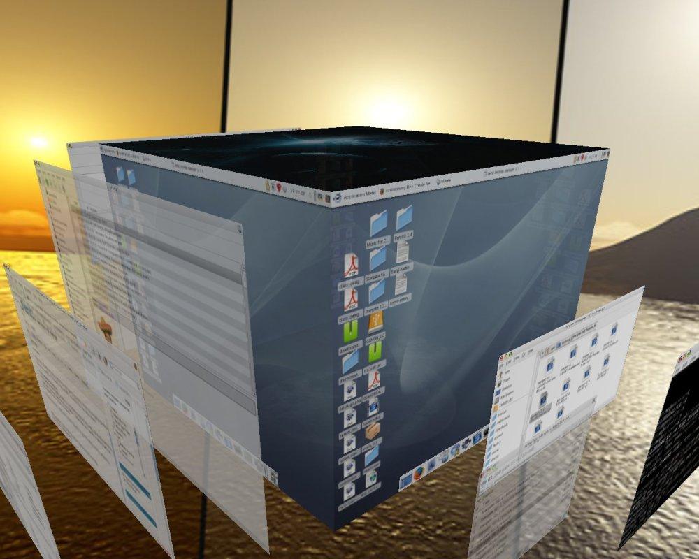 Instalar los efectos 3D en Compiz Fusion (2/2)