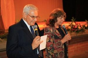 El pastor Carlos Rando y su esposa María Felisa, fueron los encargados de los seminarios durante la semana de Vida Familiar