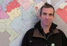 Patrick Kerr du Parti vert