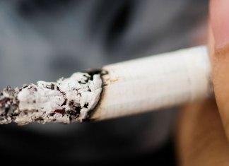 Cigarette qui brûle