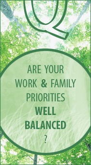 Is your life well balanced?