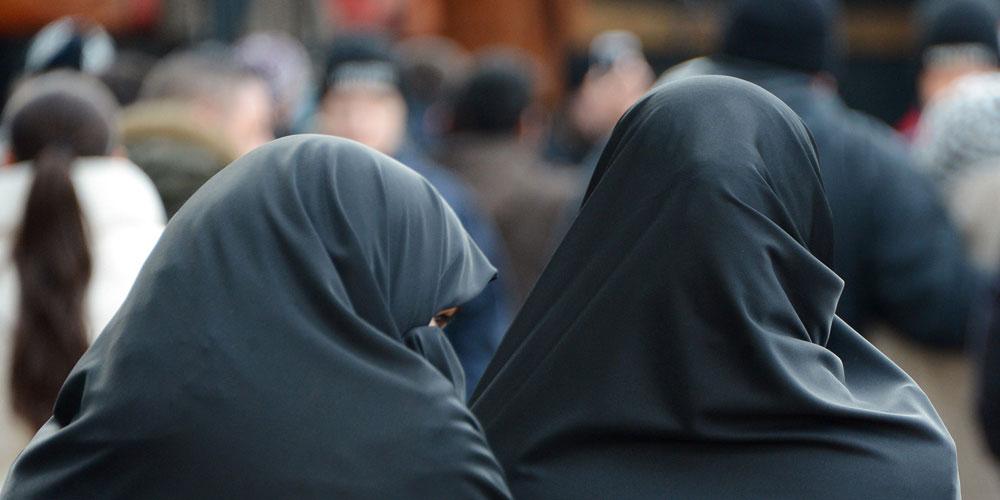Le voile islamique en tant que prison portative