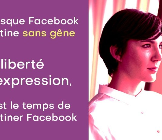 Facebook piétine la liberté d'expression