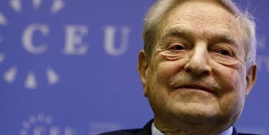 George Soros qui sourit, à Budapest