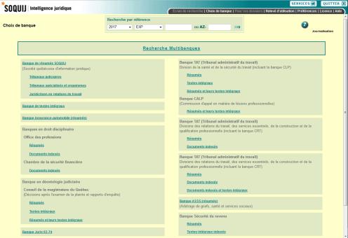 Choix de banques de Juris.doc