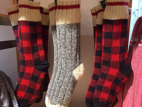 Warm socks from Roots — $$