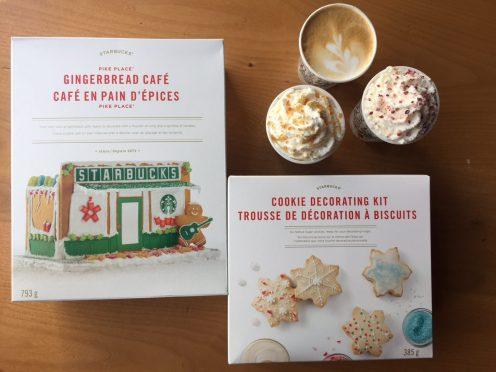 Biscuits à décorer chez Starbucks - $