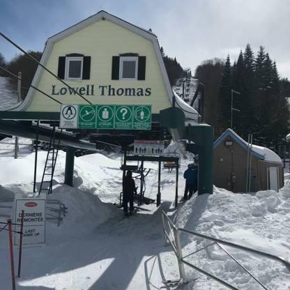 Nouvelle remontée Lowell Thomas
