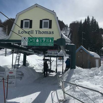 New lift Lowell Thomas