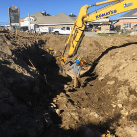 Excavation-fondations-terminal-sommet