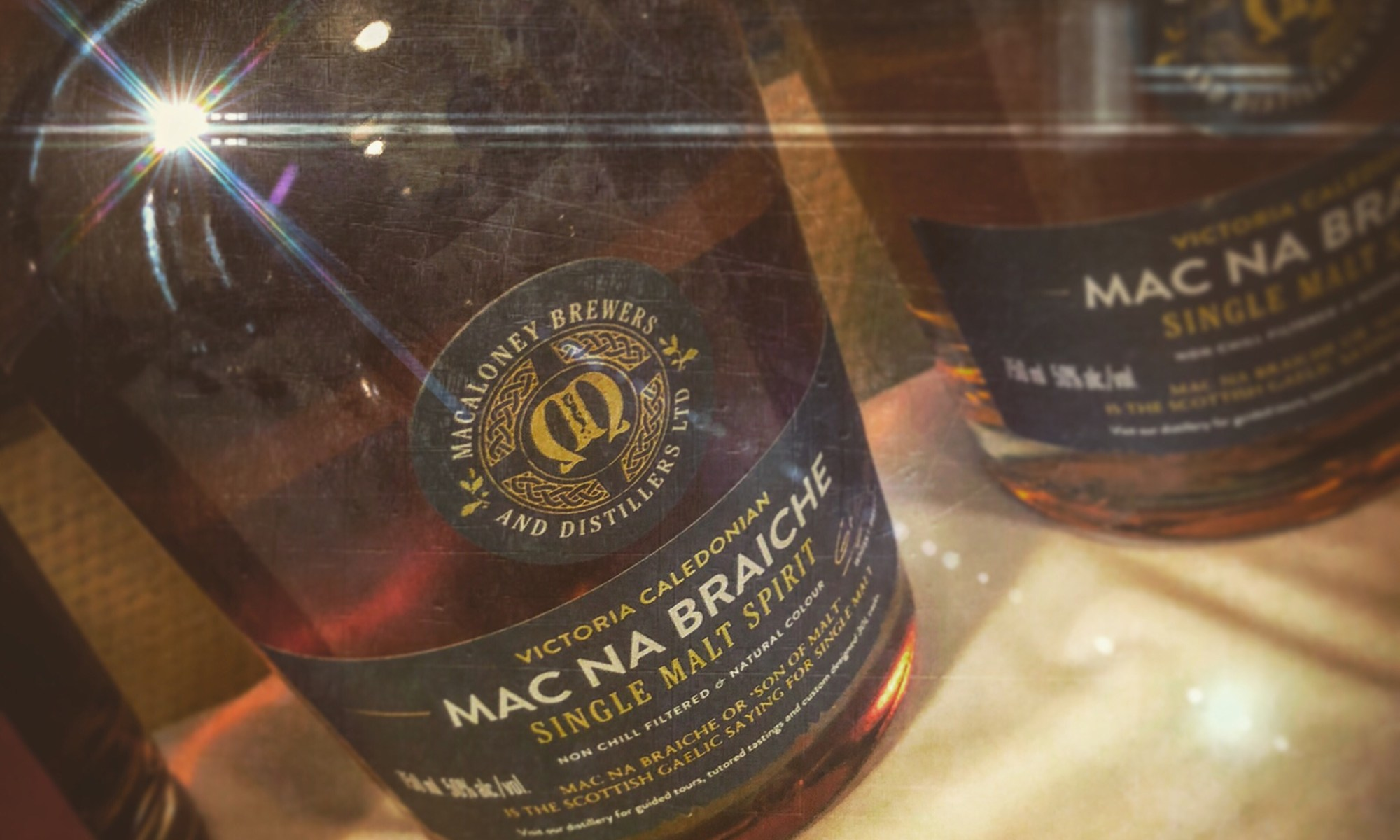 Vic Caledonian Mac na Braiche Single Malt