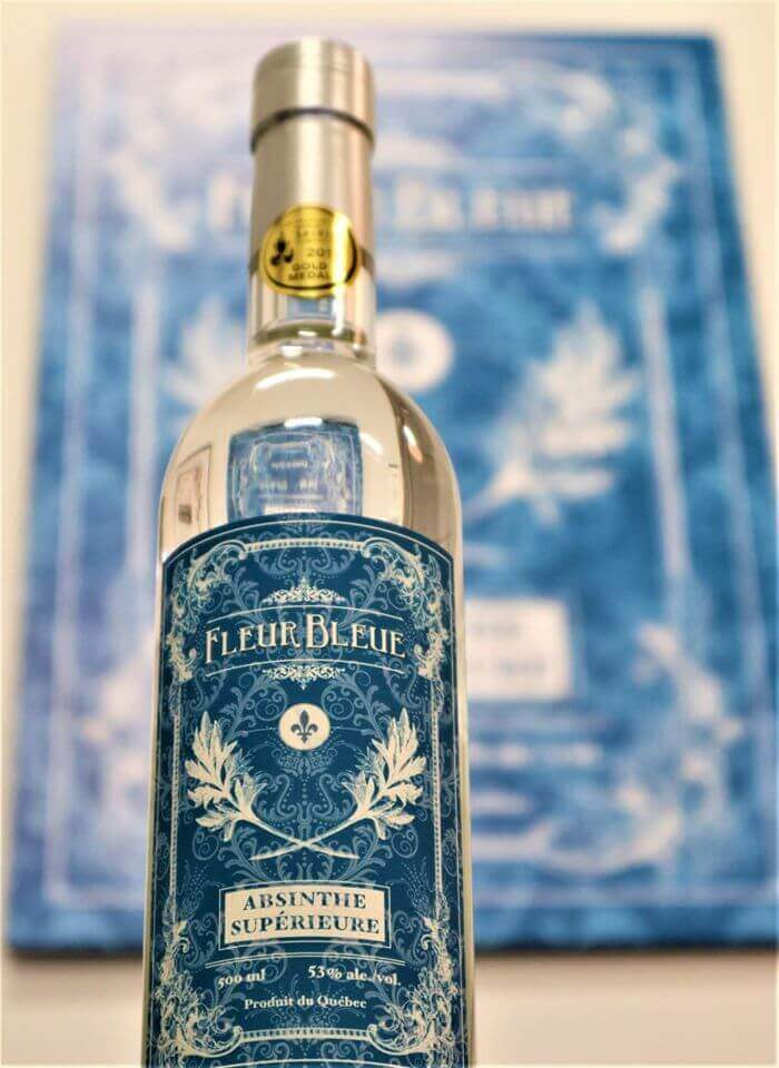 absinthe fleur bleue