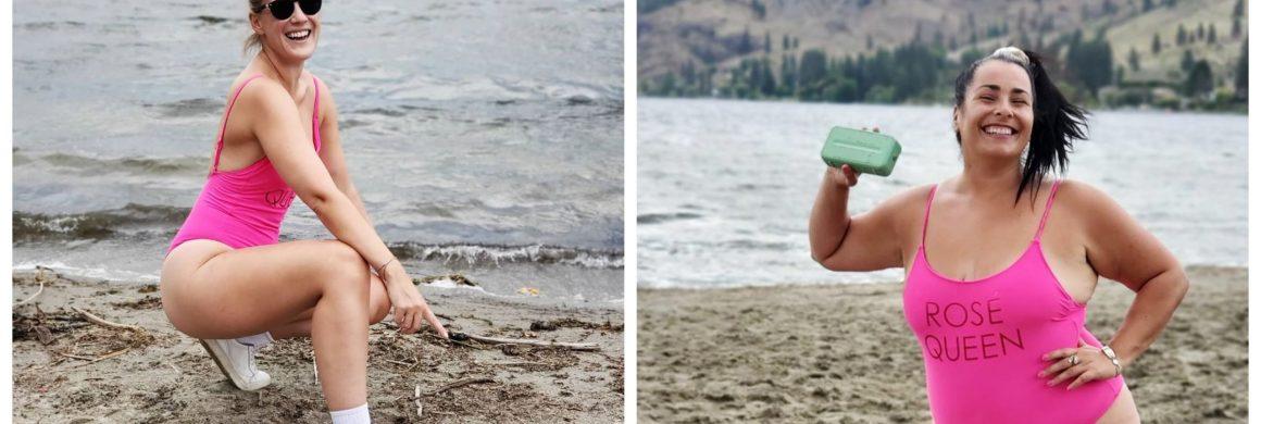 summer fun challenge s'entraîner Jess & Val en cavale