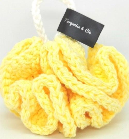 houpette jaune pâle