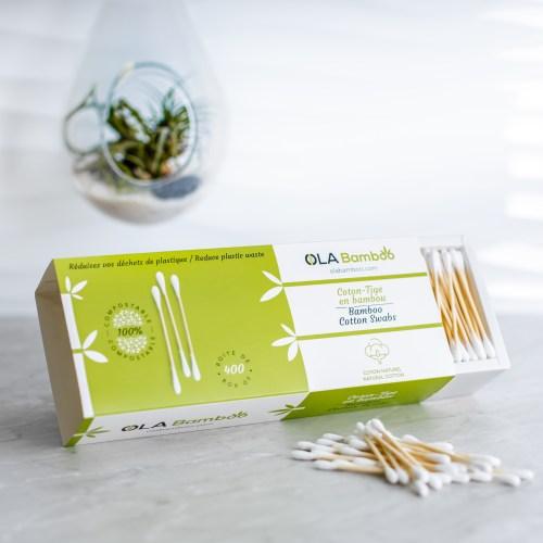 OLA Bamboo coton-tiges