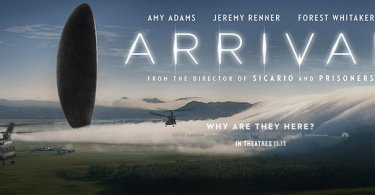 ARRIVAL: Movie Banner