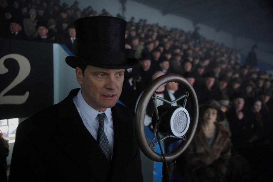 Colin Firth en El discurso del Rey