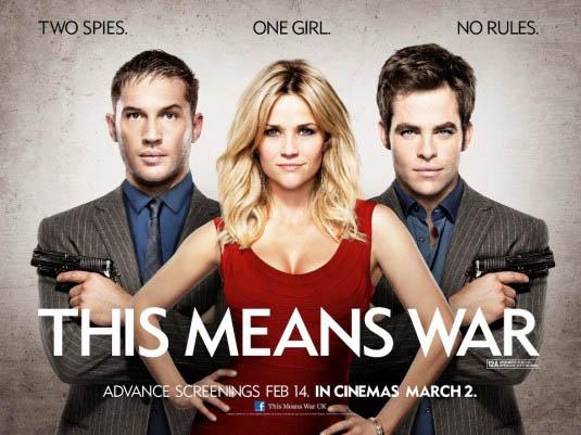 Cartel de la película This Means War (Esto es la guerra)
