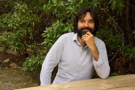 El cineasta Mateo Gil
